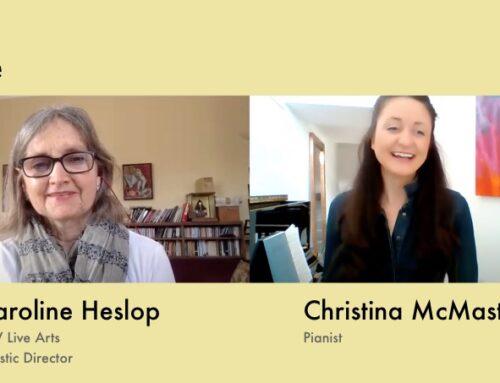 Christina McMaster talks to Caroline Heslop